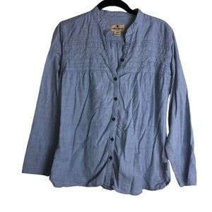 Woolrich • Chambray Button Up Blouse